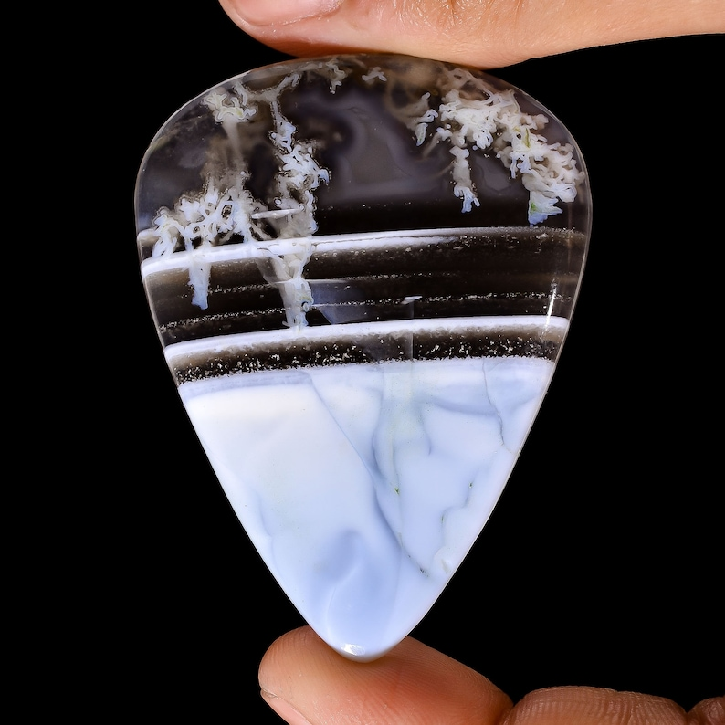 52X39X4 mm JMK-8750 Unique Top Grade Quality 100/% Natural Owyhee Blue Opal Pear Shape Cabochon Loose Gemstone  For Making Jewelry 67 Ct