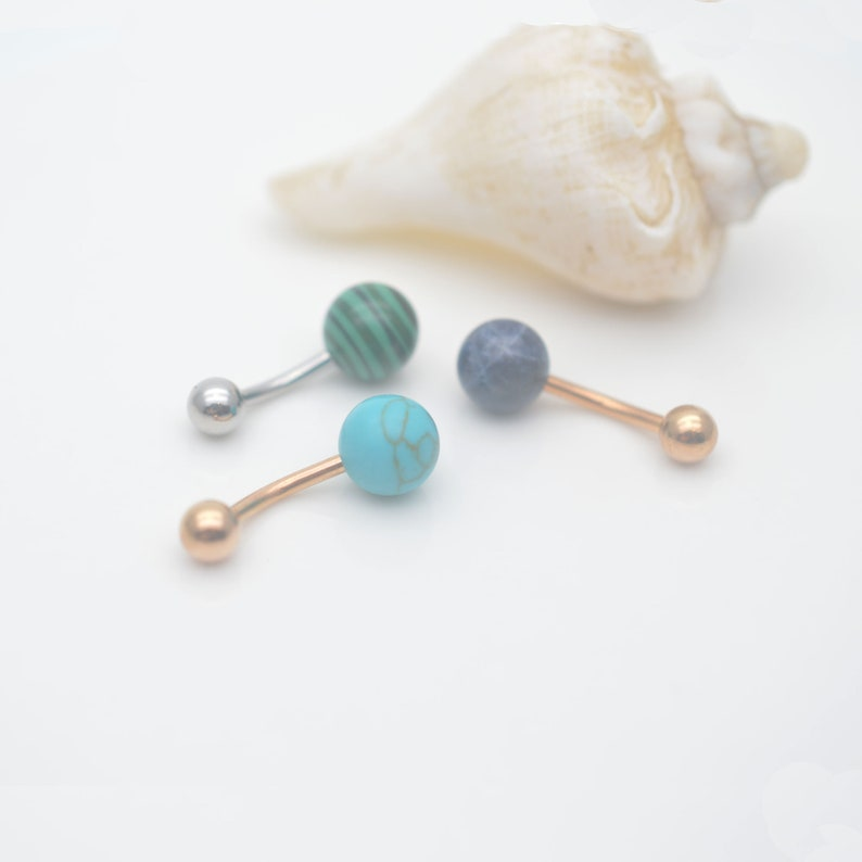 turquoise belly button rings,belly button jewelry,tropical belly ring,ocean navel ring,belly piercing ring