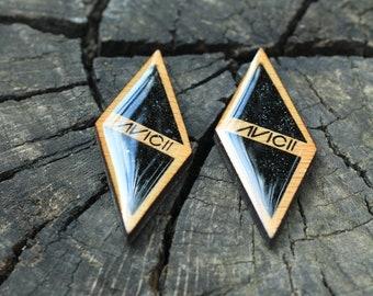 Avicii earrings / Avicii jewelry / Tim Bergling forever in our hearts