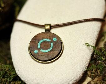 ICON ICX Necklace, ICON pendant, Blockchain, Crypto Jewelry, Coin, Cardano, Ethereum, Bitcoin