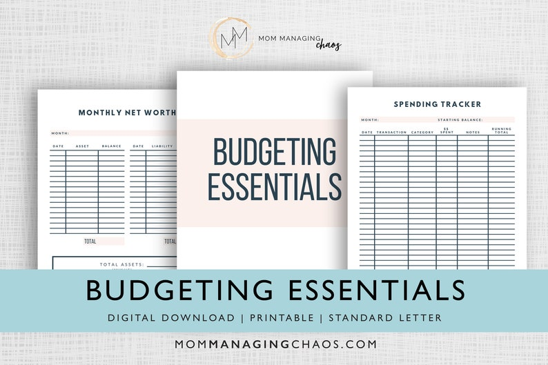 Budgeting Essentials  Weekly & Monthly Budgets  Debt and image 0