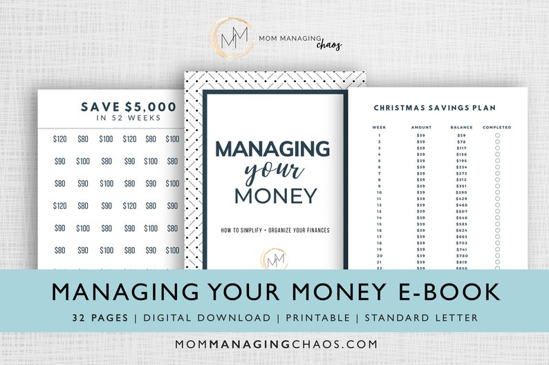 Budgeting Binder Printable with Cash Envelopes  Budget image 0