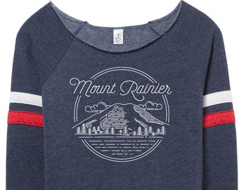 Mount Rainier Womens Sweatshirt