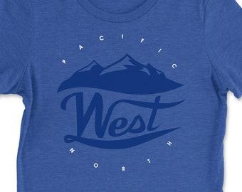 Womens Pacific Northwest Tshirt