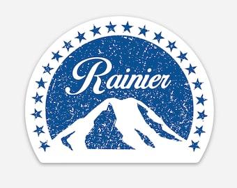 Rainier Mountain Sticker