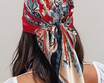 GWrix Headwear Headband Elephant Painting Head Scarf Wrap Sweatband Sport Headscarves for Men Women 19.7x9.85 Inch cm //50x25