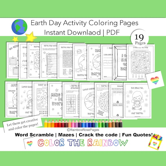 Earth Day Activity Coloring Earth Day Coloring pages Kids