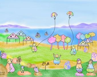Umbrella Kites