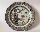 19th century Chinese Famille Rose Imari porcelain plate