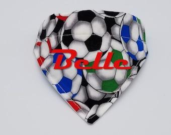 Cat Bandana Baby Bib Dog Bandana Baby Bandana Snaps Packed Soccer Balls Bandana 100/% Cotton