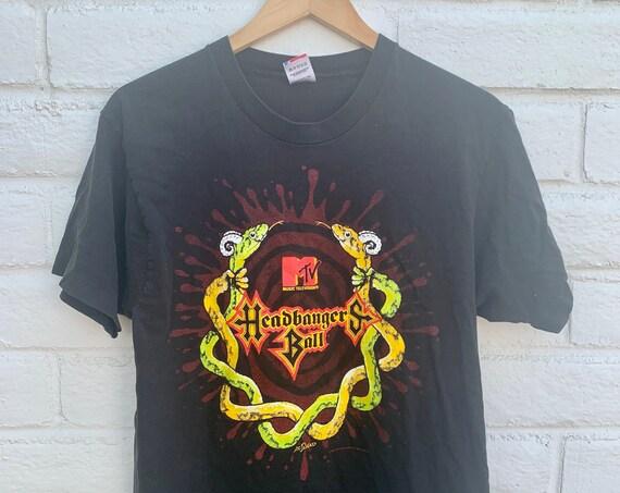 Headbanger's Ball 1991 Vintage MTV Shirt