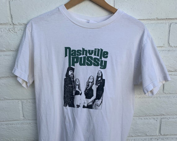 Vintage Nashville Pussy Shirt