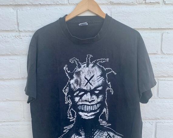 White Zombie Freakazoid Heaven Vintage T-Shirt Rob Zombie 1995 90s Industrial
