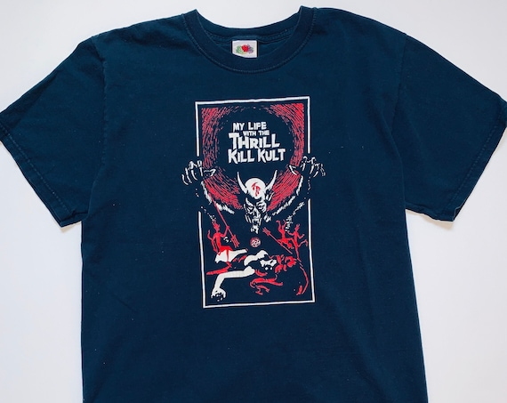 90s Vintage My Life With The Thrill Kill Kult Shirt