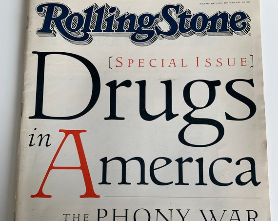 Rolling Stone Magazine Drugs in America 1994