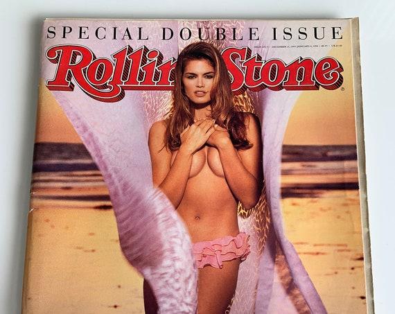 Cindy Crawford Rolling Stone Magazine 1993