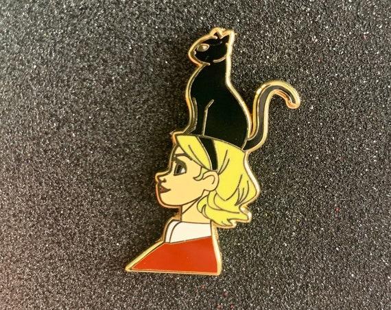 Sabrina The Teenage Witch Salem Pin Halloween Nostalgia Cartoons Clarissa