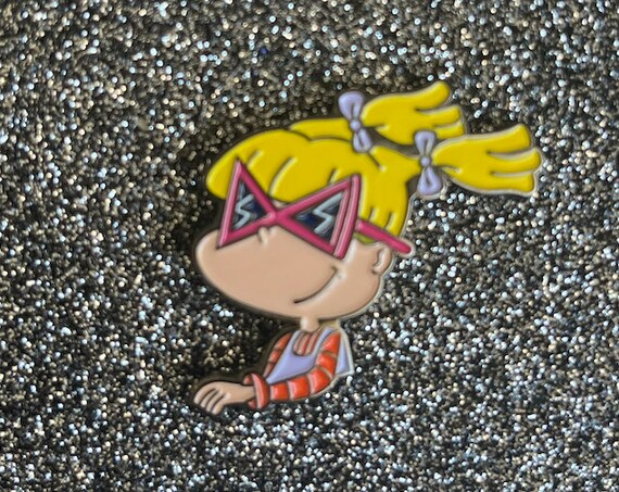 Angelica Pickles Pin Rugrats 90s Nickelodeon Cartoons Novelty Nostalgia