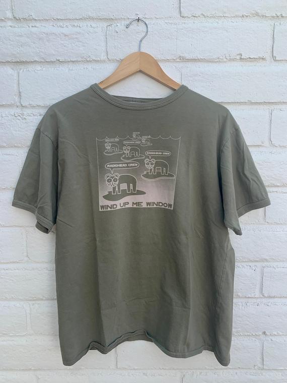 Radiohead Wind Me Up Window Vintage T-Shirt