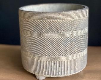 Ethnic plant pot/Ceramic pot/Housewarming gift/Plant lover gift