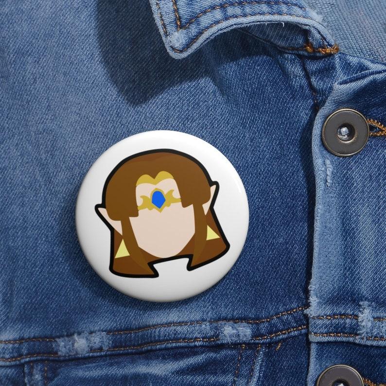Zelda Alt Skin Pin Button