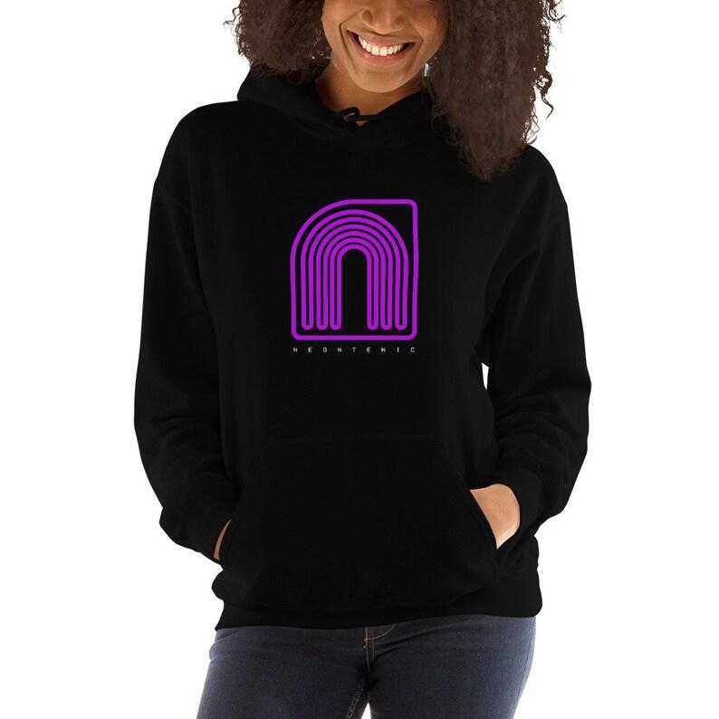 Neontenic Logo Hooded Sweatshirt image 0