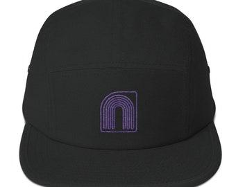 Neontenic Logo 5 Panel Camper cap