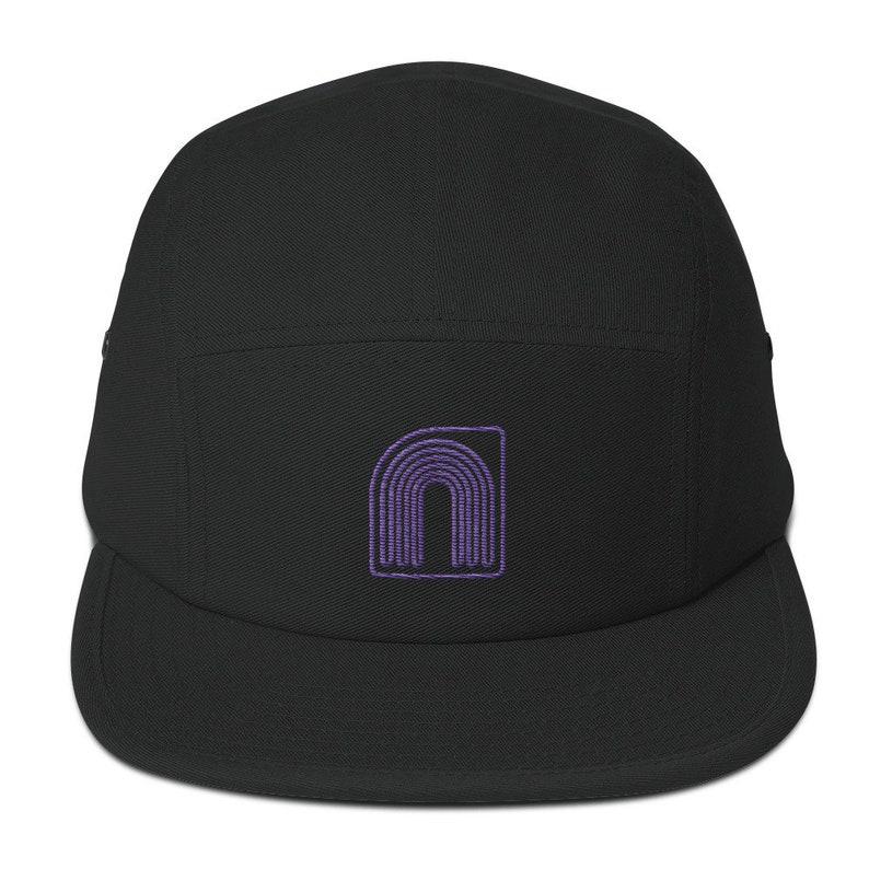 Neontenic Logo 5 Panel Camper cap image 0