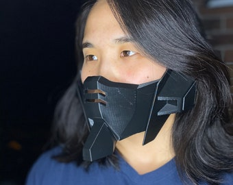 12 Colors Breathable Fast Shipping Made in US 3D Printed Anime Battle Mech Cosplay Mask