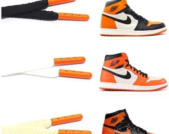 Multi-Color Camo Flat Shoe laces for Air Jordan 1 3 4 Max Force 1 SK-8 90 Atmos