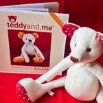 Make Teddy PAPER sewing pattern - Sew your own soft toy teddy bear - teddyand.me