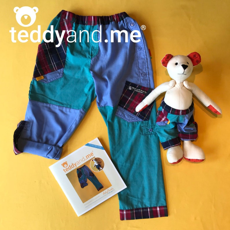 Arty Pants PAPER sewing pattern  Kids Age 3-12 and one for image 0