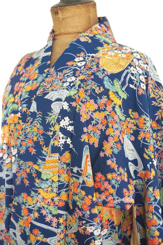 Stunning Vintage Japanese Kimono #293