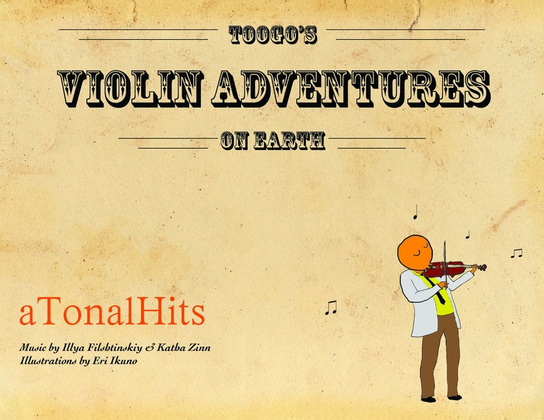 Toogo's Adventures on Earth Violin image 0