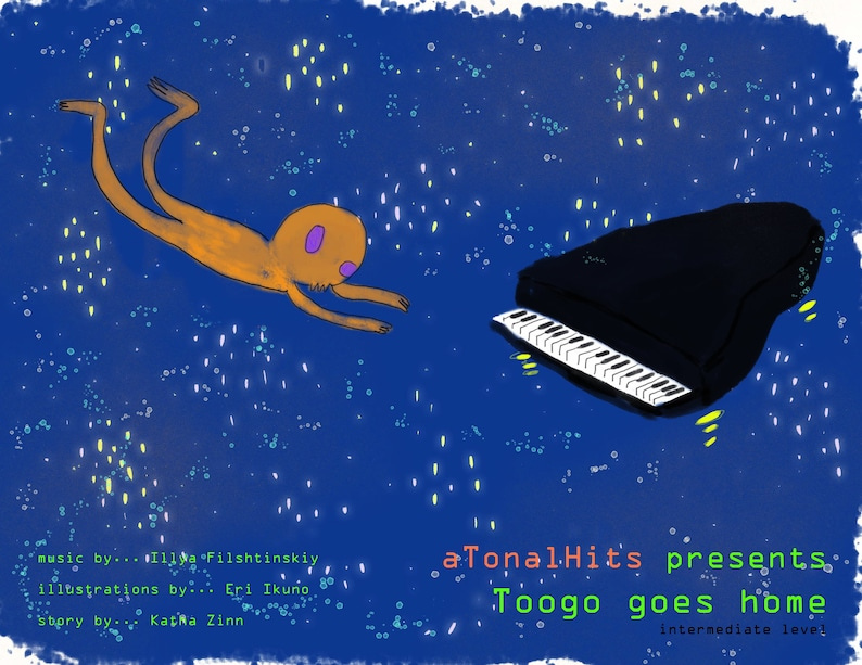 Toogo Goes Home Piano image 0