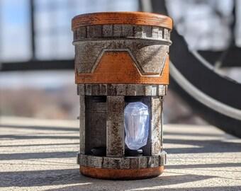 Savi's Workshop Kyber Crystal Container Pod Unit Replica | Batuu Galaxy's Edge | Star Wars Theme Park