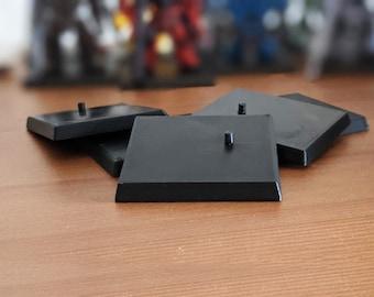 Gundam Converge Figure 3D Printed Stands | Replica Figurine Accessories | Bandai Shokugan FW