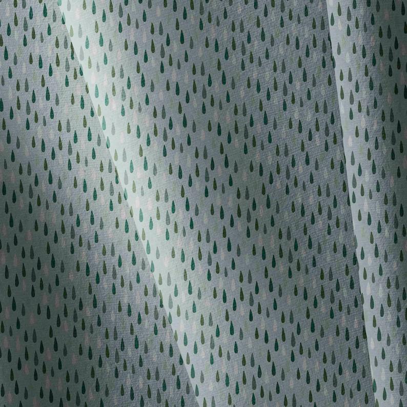 Raindrops Softshell Fabric fabric by yard Rain Drops Fabric jacket fabric custom printed 300gsm jacket fabric Soft shell