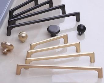 Black Cabinet Drawer Pulls Modern Kitchen Cabinet Handles Cabinet Hardware Handle Pull Modern Cabinet Pull Modern Kitchen Drawer Handles