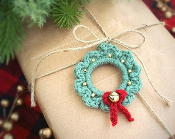 Wreath Ornament; Mini Christmas Wreath
