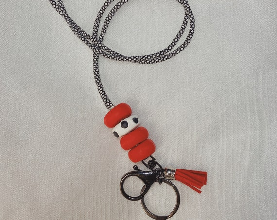 polymer clay collection - lanyard