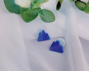 Blue Mountain and Moon Studs