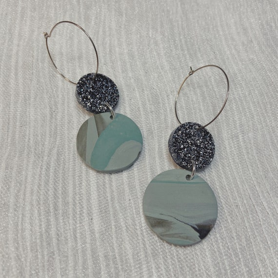 First Edition Polymer Clay Earrings