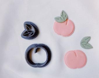 Embossed Peach Cutter