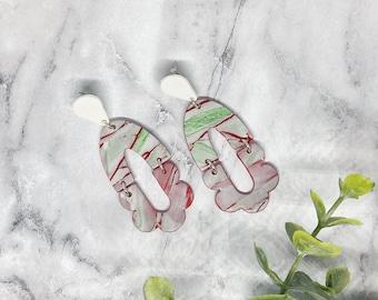 Holiday Season Festive Polymer Clay Earrings
