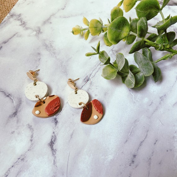 Autumn Leaf Earrings | Nickel Free