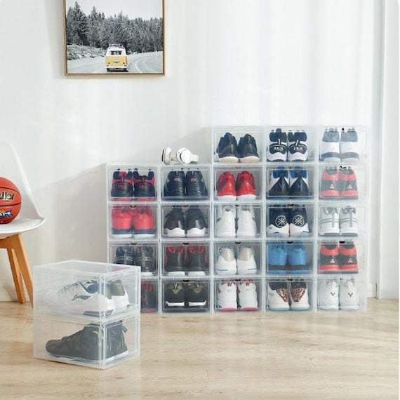 AkakaUS Storage Shoes Box Womens Mens