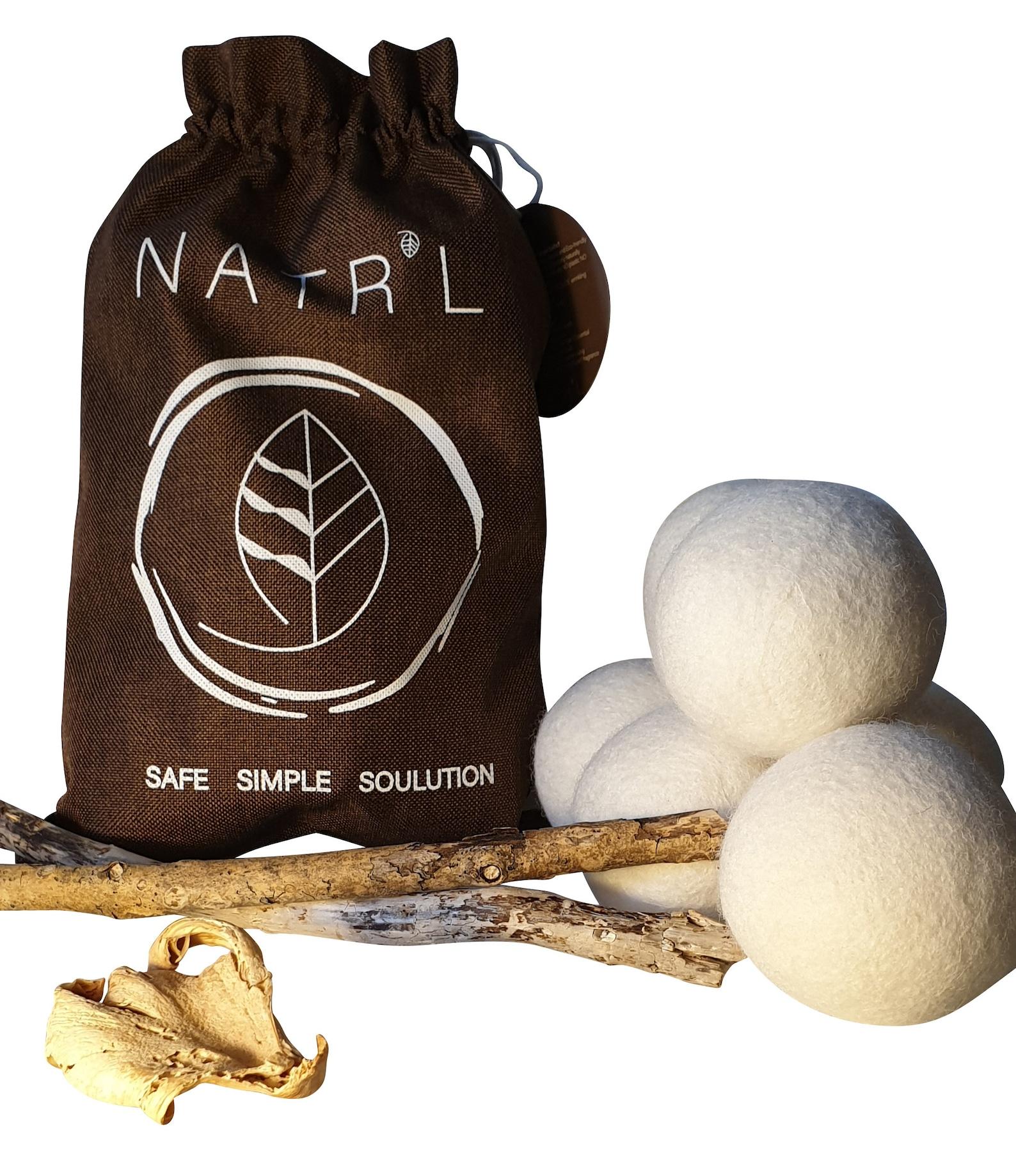 Wool dryer balls... already made!