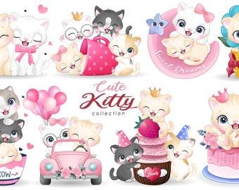 Cute Kitty Clipart