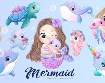 Mermaid & Friends